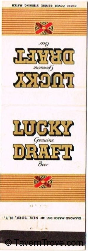 Lucky Genuine Draft Beer