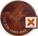 Lucky Lager Beer (duck)