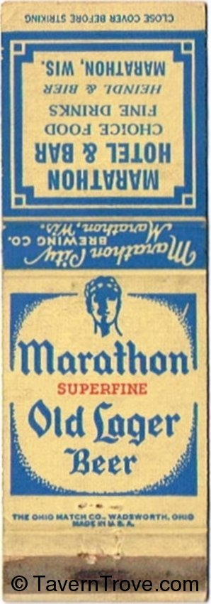 Marathon Superfine Old Lager Beer