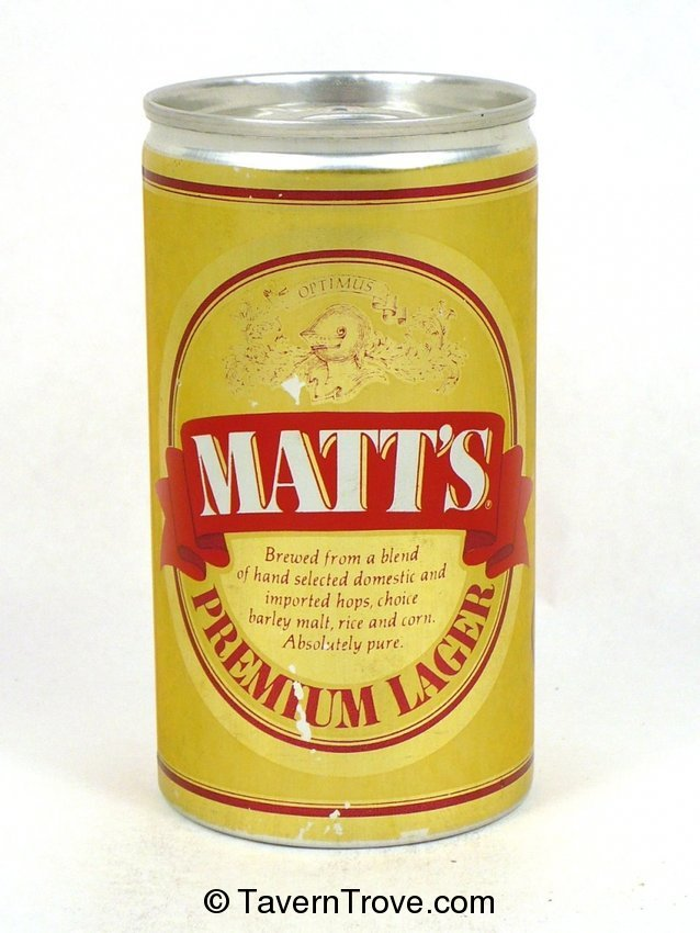 Matt's Premium Lager Beer (test)