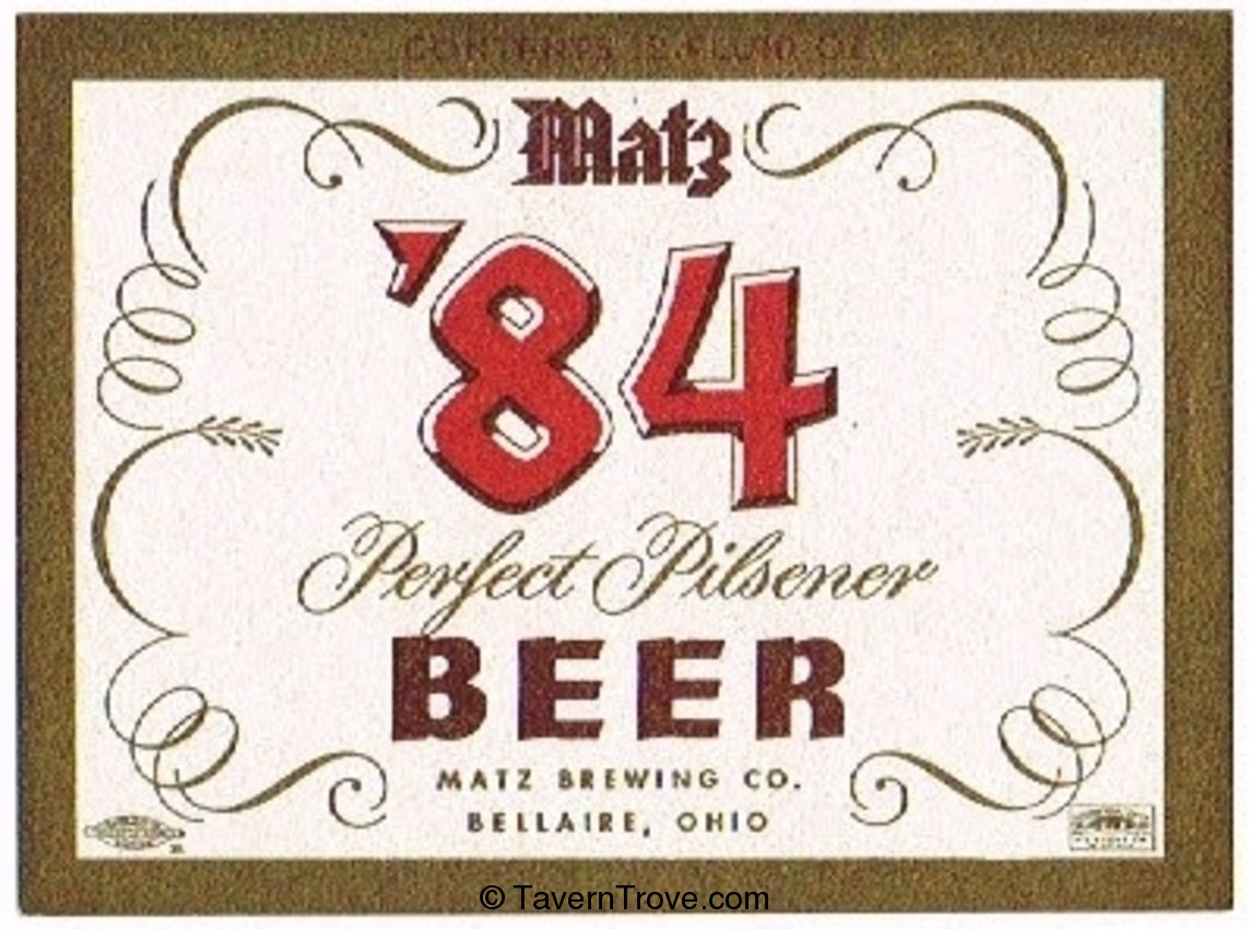 Matz '84 Perfect Pilsener Beer