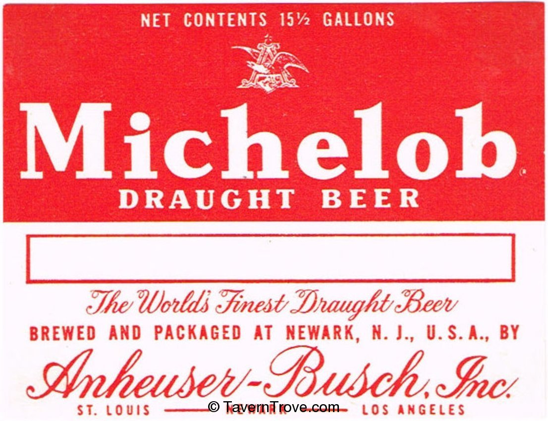 Michelob Draught Beer