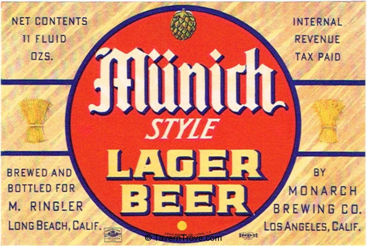 Munich Style Lager Beer