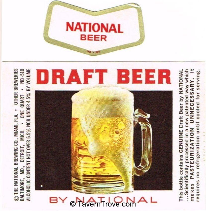 National Draft Beer
