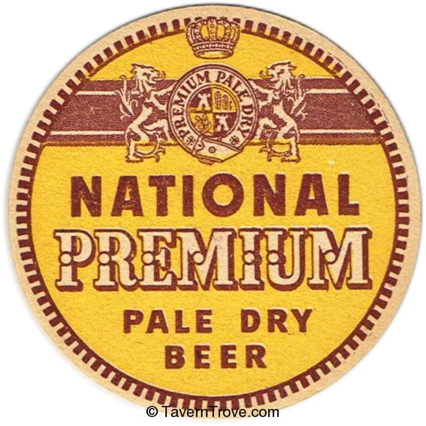 National Premium Pale Dry Beer
