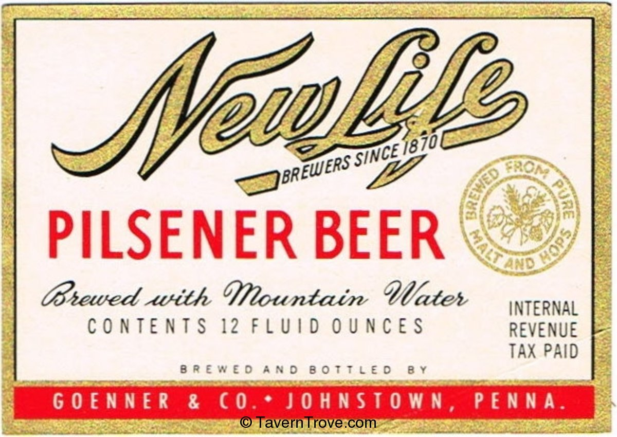 New Life Pilsener Beer