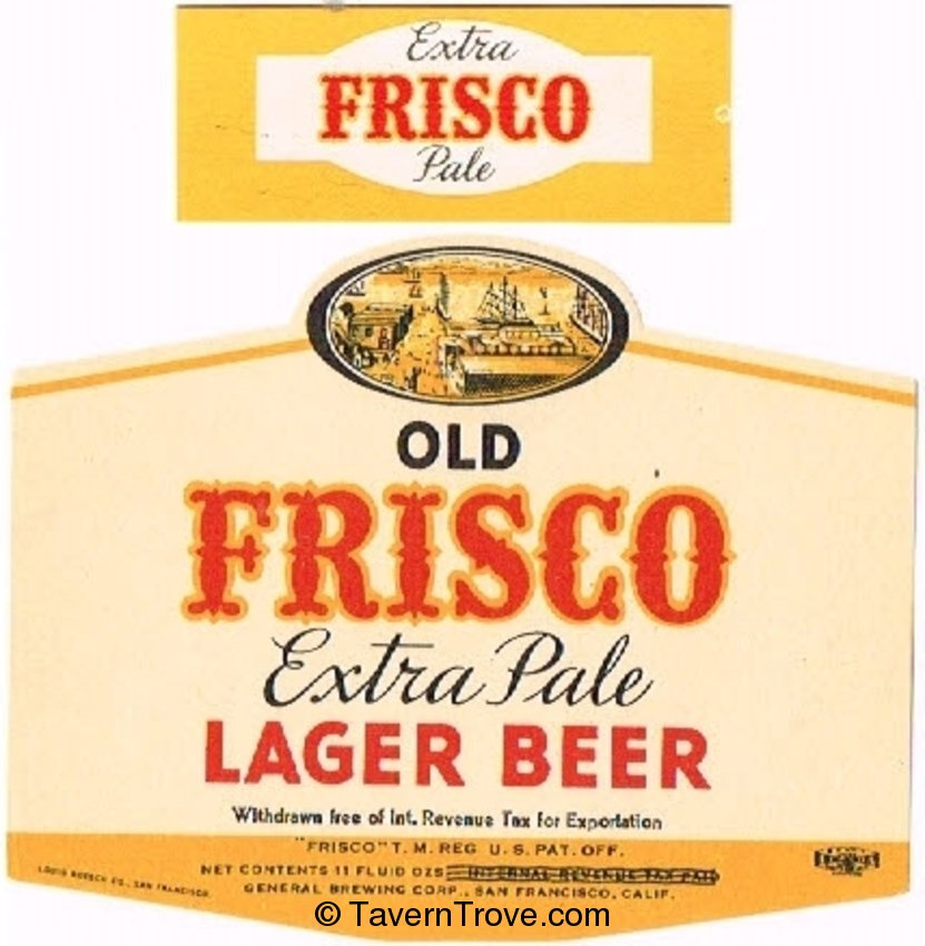 Old Frisco Beer