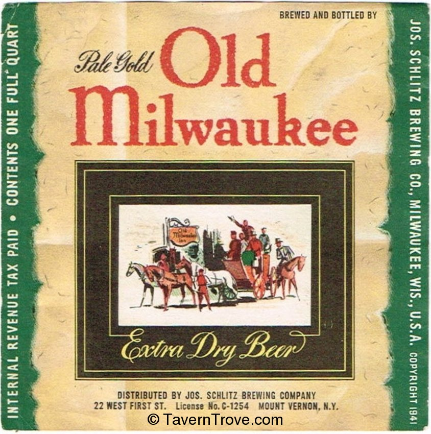 Old Milwaukee Extra Dry Beer