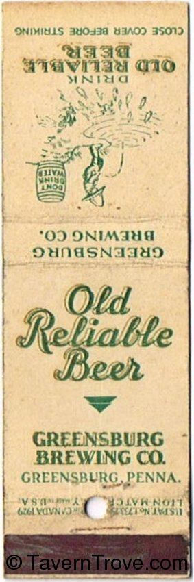 Old Reliable Beer