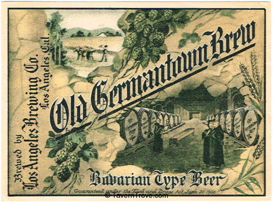 Old Germantown Brew Beer