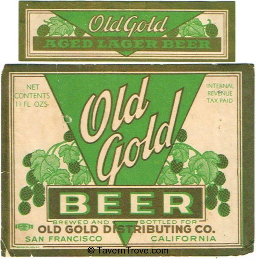 Old Gold Beer
