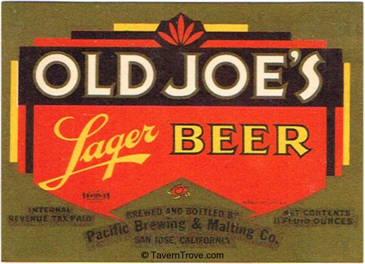 Old Joe's Lager Beer