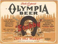 Olympia Pale Export Beer