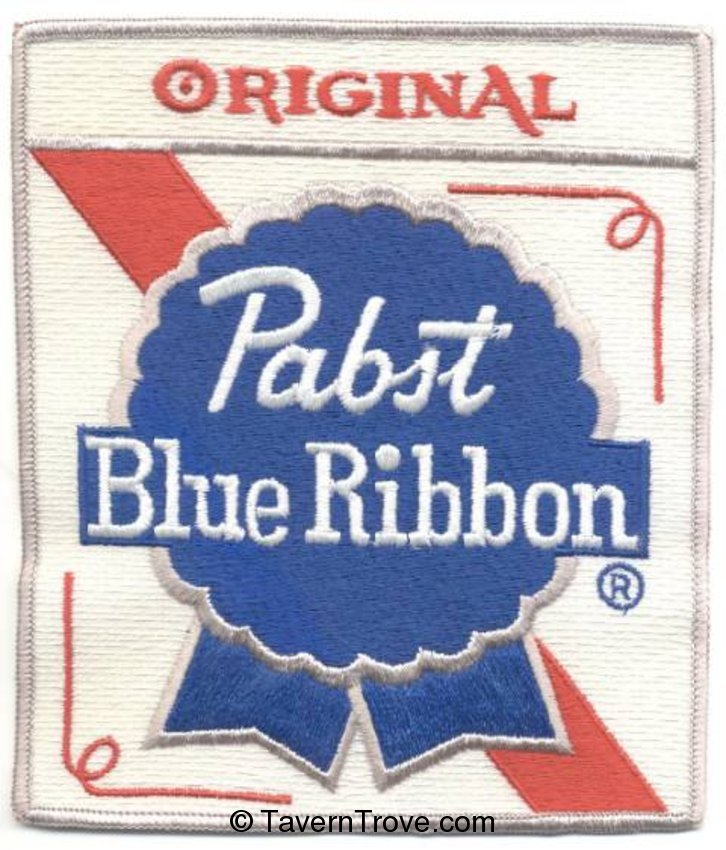 Original Pabst Blue Ribbon Back Patch