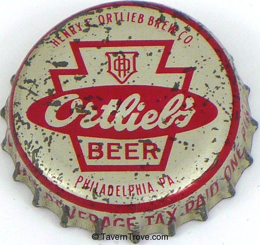 Ortlieb's Beer ~PA pint tax