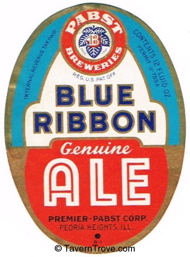 Pabst Blue Ribbon Ale