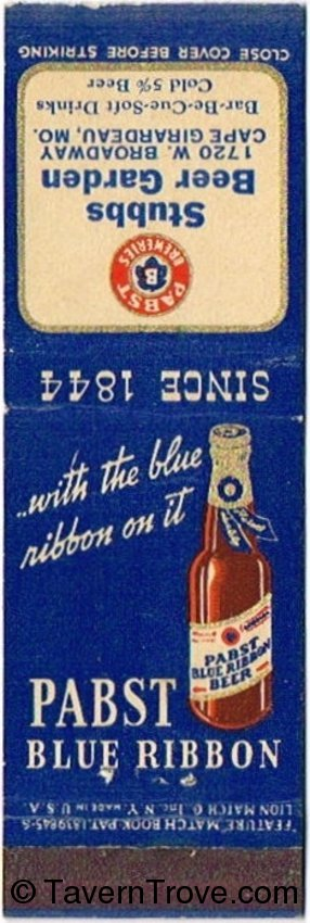 Pabst Blue Ribbon Beer