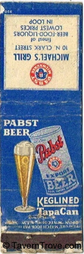 Pabst Export Beer