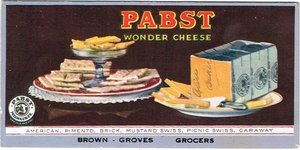 Pabst Wonder Cheese