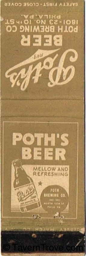 Poth's Beer (Steelton Products)
