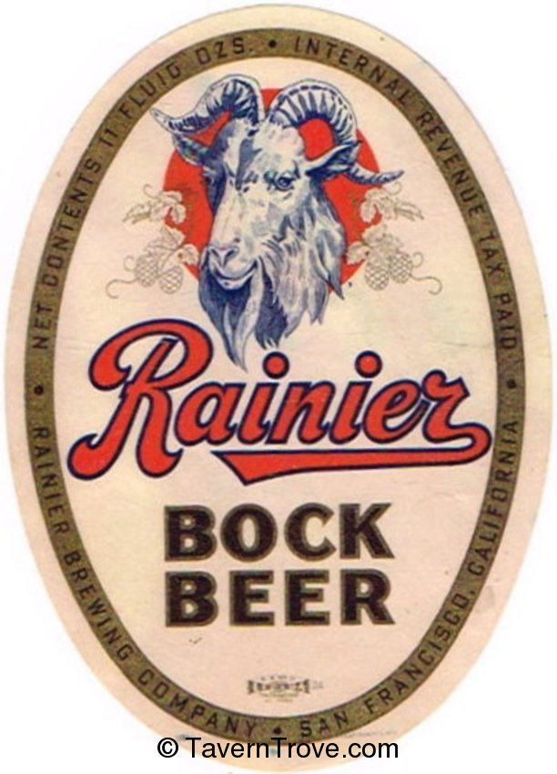 Rainier Bock Beer
