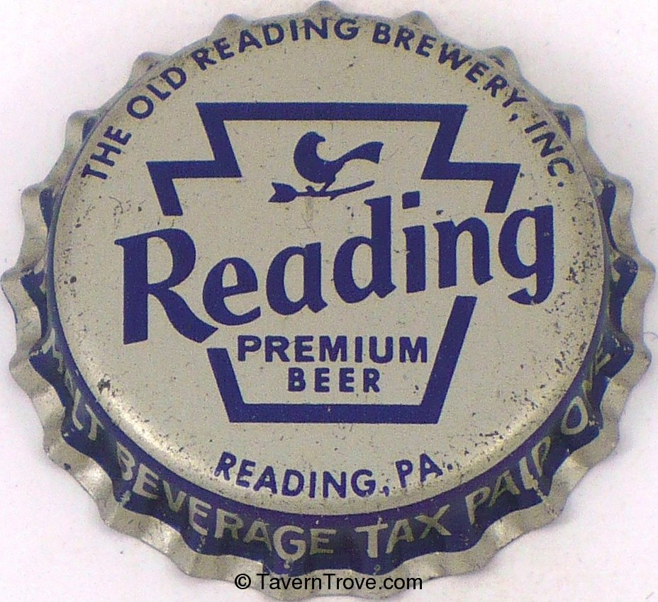 Reading Premium Beer ~PA Tax
