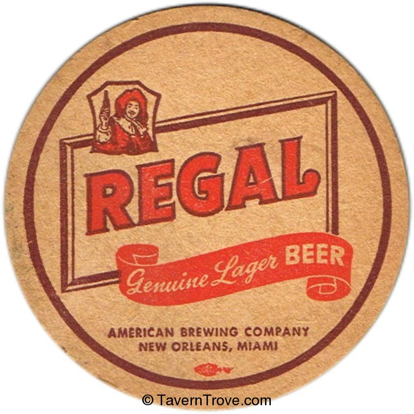 Regal Genuine Lager Beer