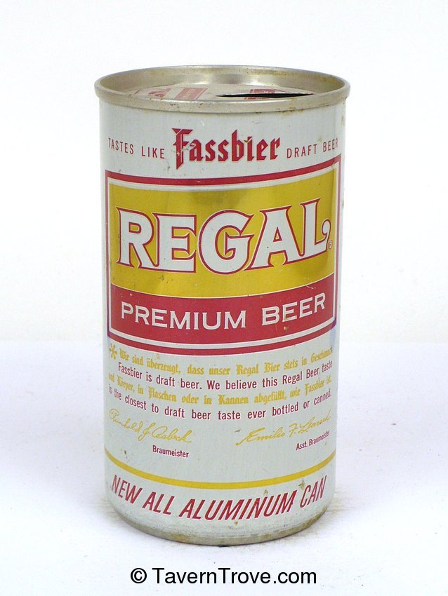 Regal Premium Beer