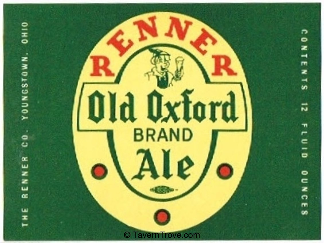 Renner Old Oxford Brand Ale