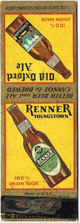 Renner Lager/Old Oxford Ale