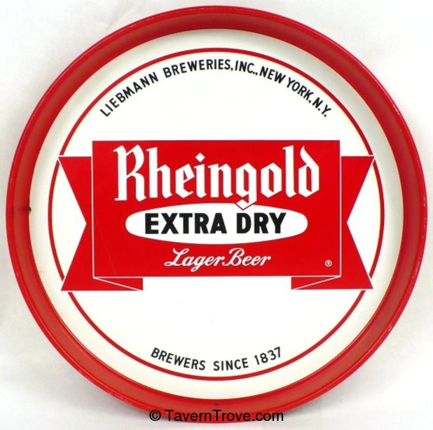 Rheingold Extra Dry Lager Beer