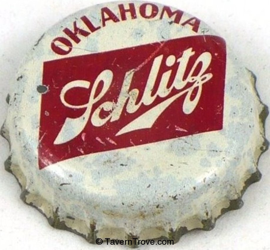 Schlitz Beer ~OK tax