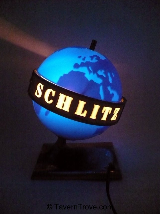 Schlitz Beer rotating light