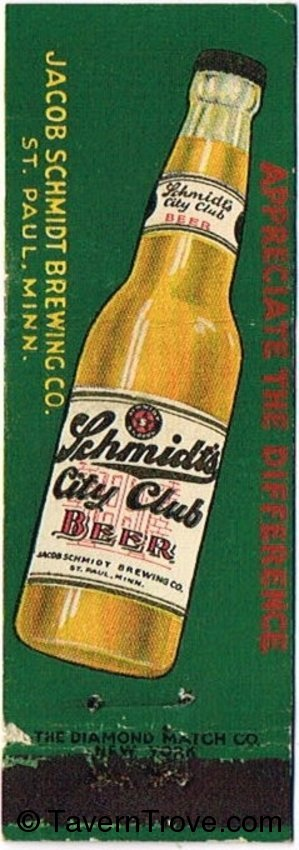 Schmidt City Club Beer (Rev. var. 3)