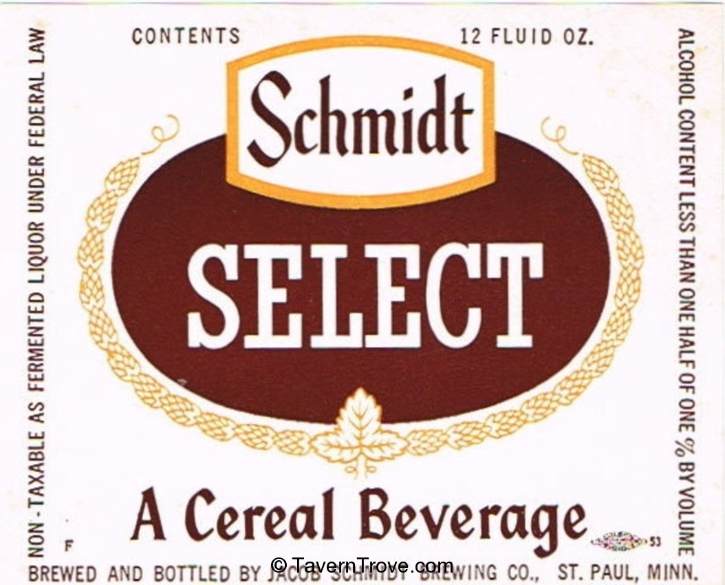 Schmidt Select Cereal Beverage