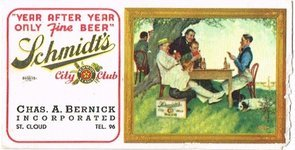 Schmidt's City Club Beer