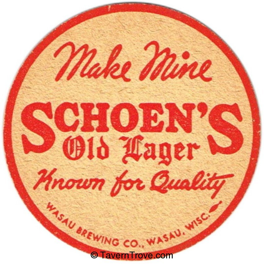 Schoen's Old Lager Beer