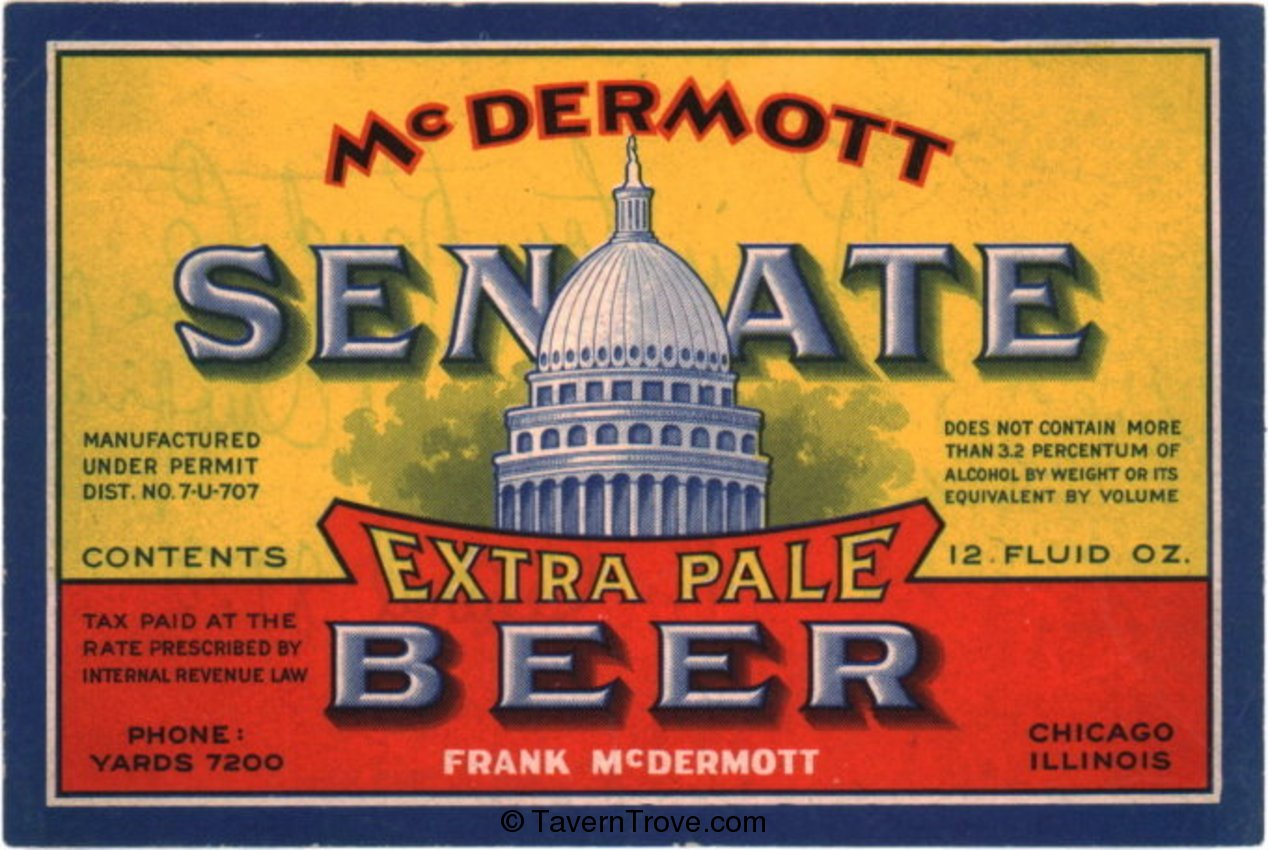 Senate Extra Pale Beer