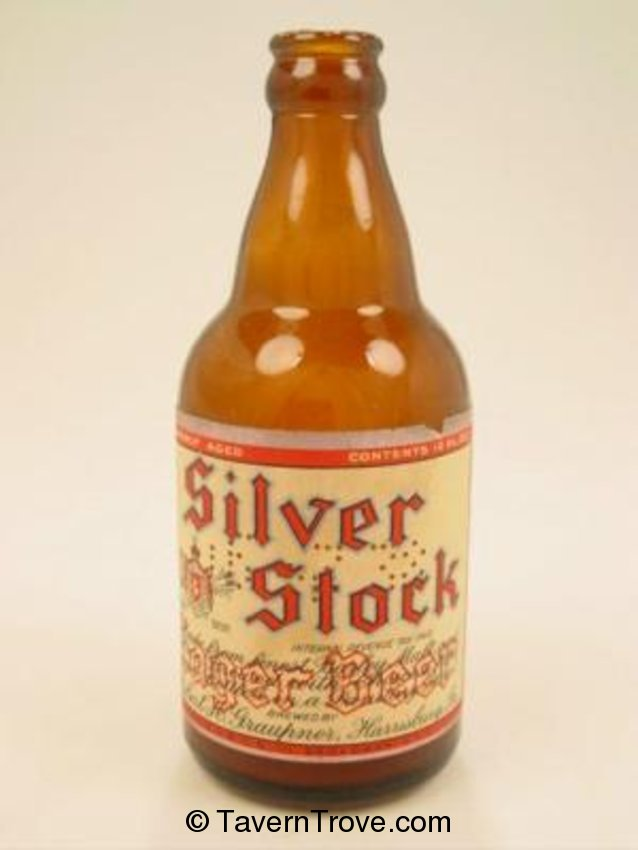 Silver Stock Lager Beer