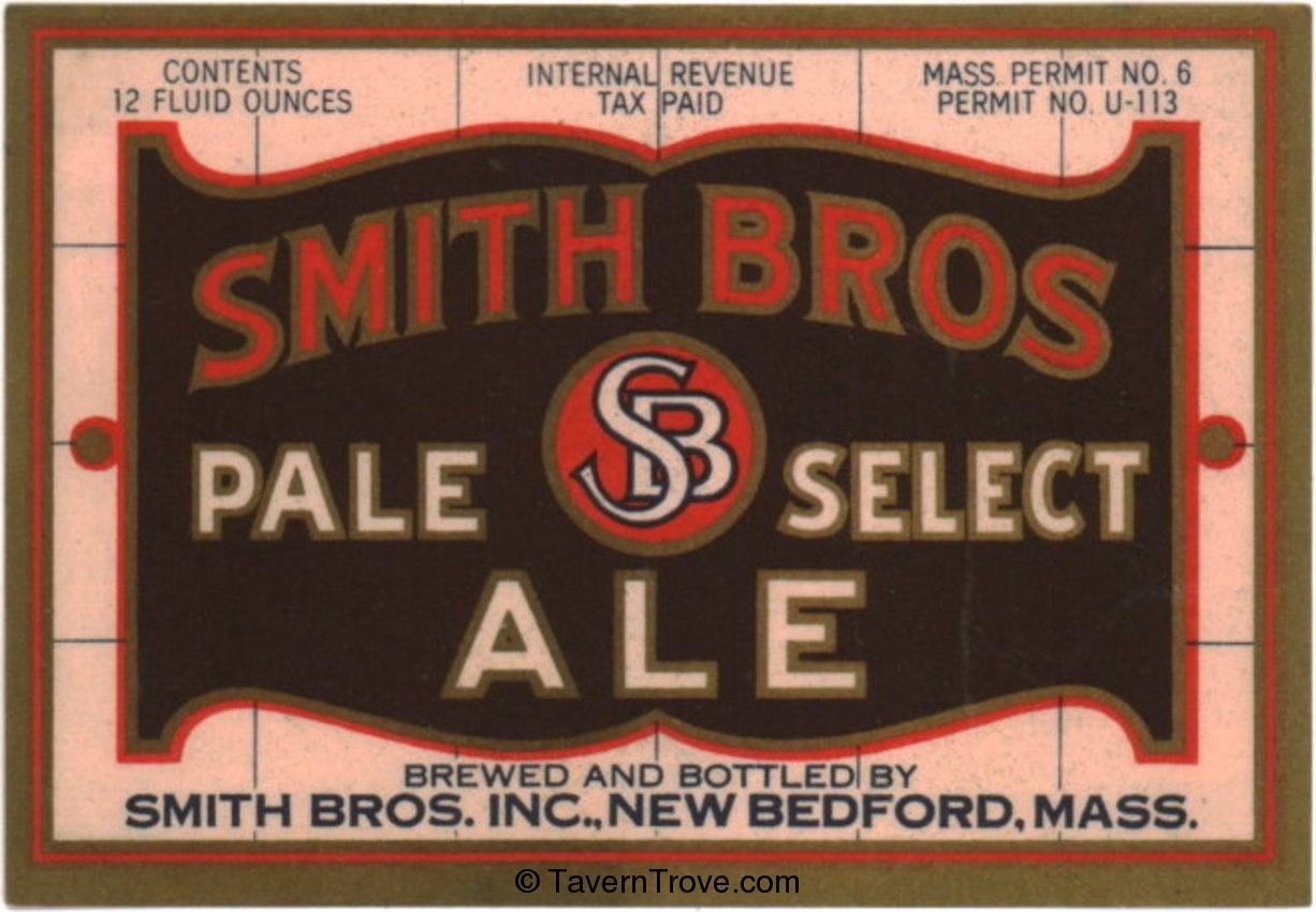 Smith Bros. Pale Select Ale