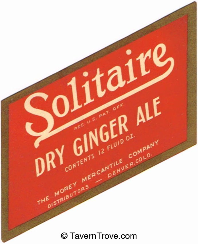 Solitaire Dry Ginger Ale