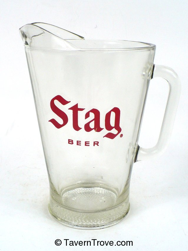 Stag Beer Pitcher