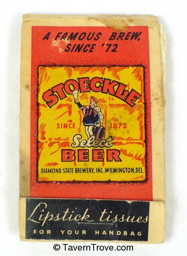 Stoeckle Select Beer lipstick tissues