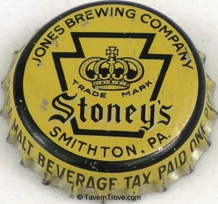 Stoney's Beer ~PA Tax Crown