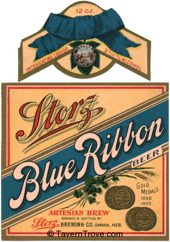 Storz Blue Ribbon Beer