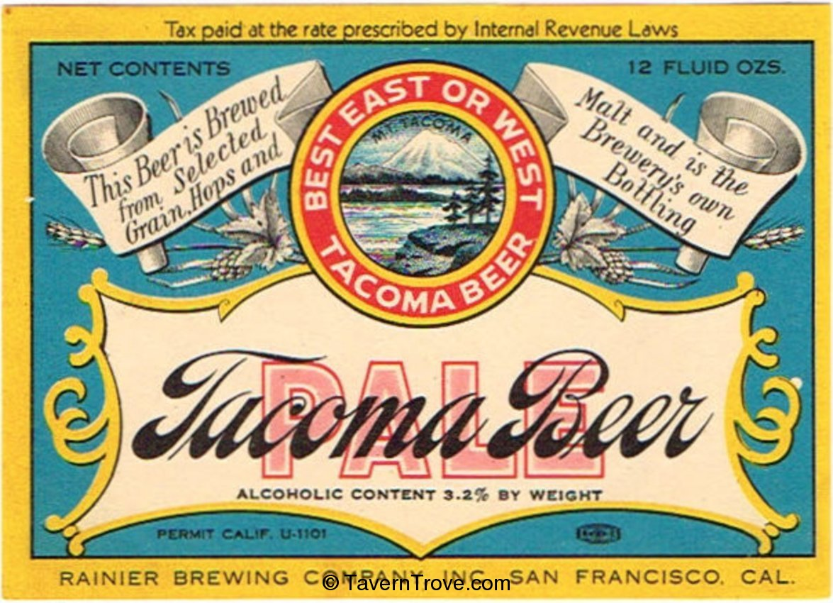 Tacoma Pale Beer
