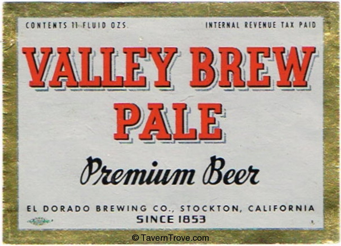 Valley Brew Pale Premium Beer
