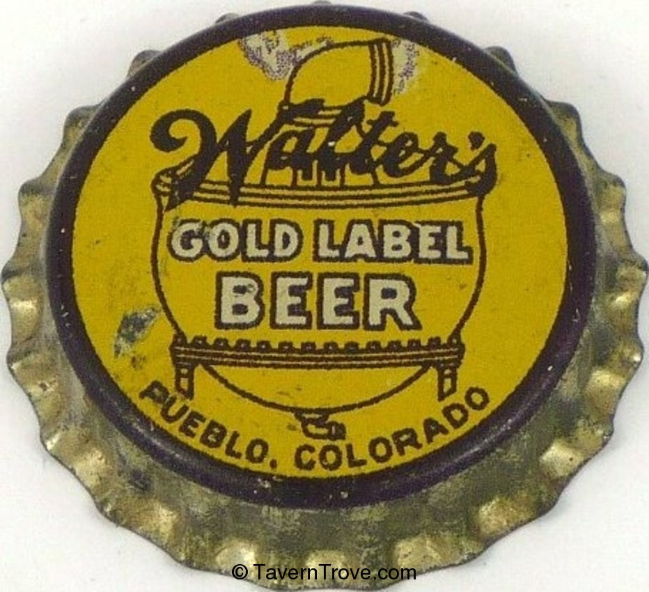 Walter's Gold Label Beer