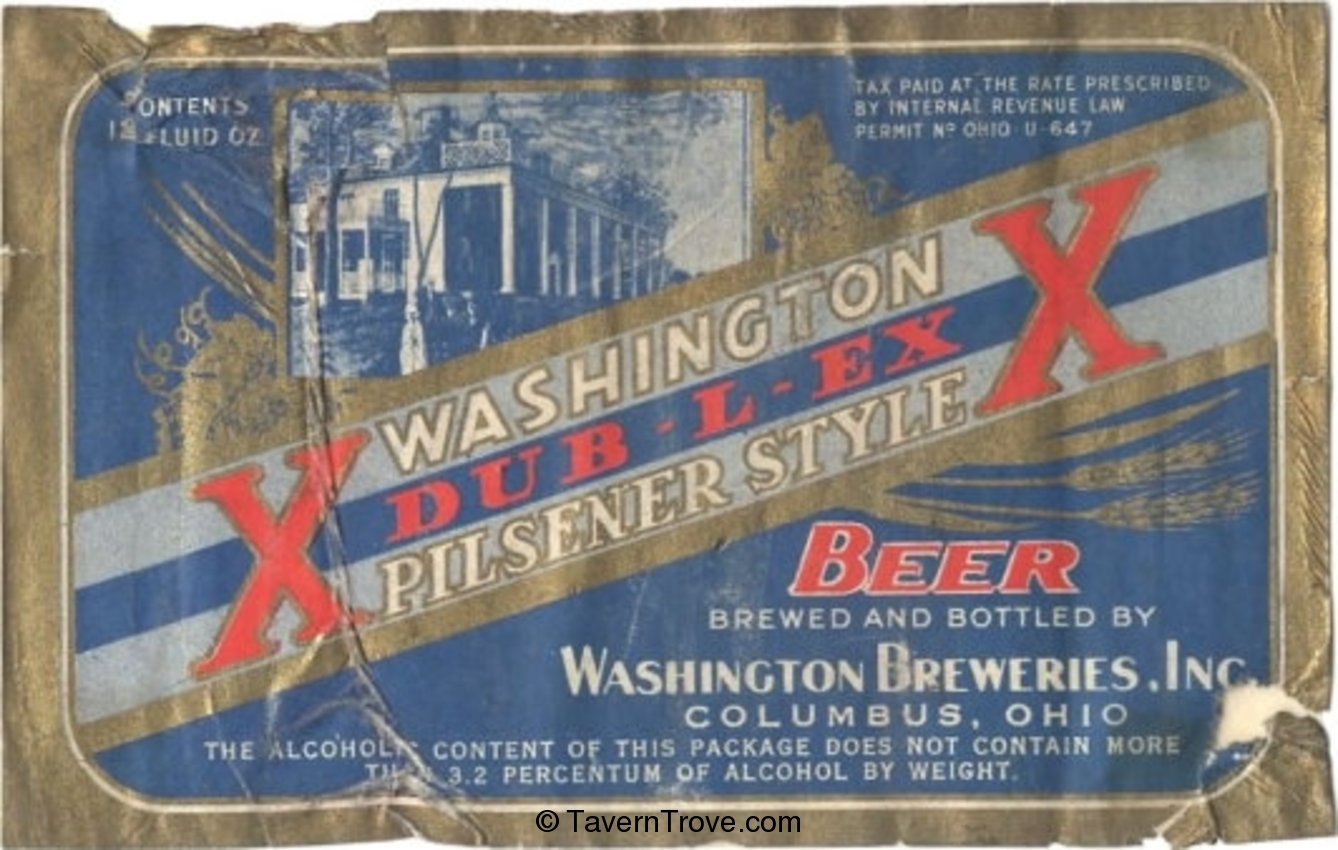 Washington Dub-l-Ex Pilsener Style Beer
