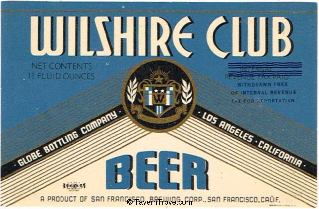 Wilshire Club Beer